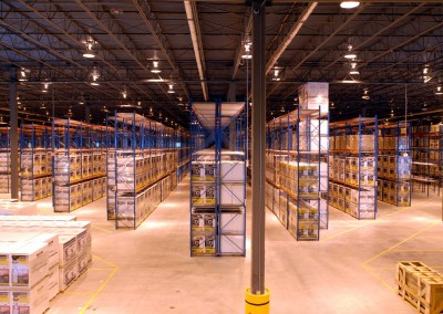 Aisle Designs for Unit-Load Warehouses