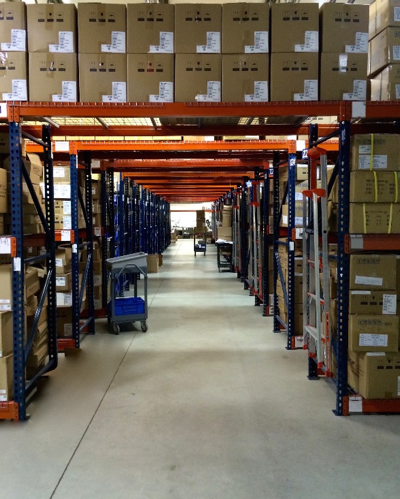 L-Com warehouse
